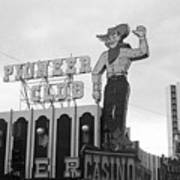 Las Vegas 1980 Bw #13 Poster