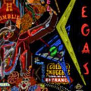Las Vegas Neon Poster