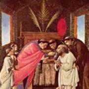Last Communion Of St Jerome Poster