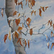 Last Leaves Poster