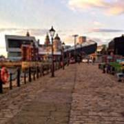 Late Afternoon At Albert Dock Poster
