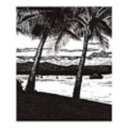 Late Afternoon At Dunk Island Poster
