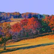Late Fall Biltmore Estates Poster