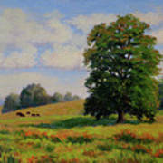 Late Summer Pastoral Poster