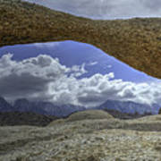 Lathe Arch Between Storms Poster