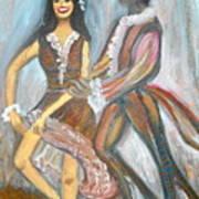 Latin Dancers 1 Poster