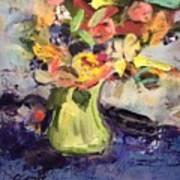 Laura's Antique Vase Poster
