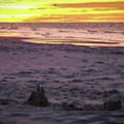 Lauren's Sandcastle Poster