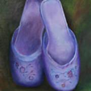 Lavender Slippers Poster