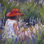 Lavender Treasure Poster