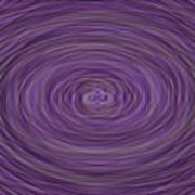 Lavender Vortex Poster