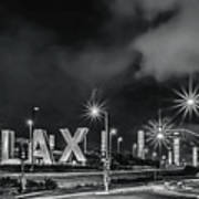 Lax Entry Poster