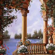 Le Arcate Chiuse Sul Lago Poster