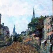 Le Boulevard Vide Poster