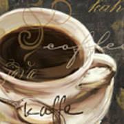 Le Cafe Dark Poster