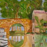 Le Canal Du Midi Poster