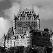 Le Chateau Frontenac - Quebec City Poster
