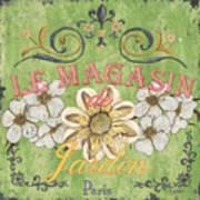 Le Magasin De Jardin Poster