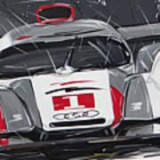 Le Mans Audi R18 Poster