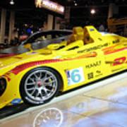 Le Mans Porsche Poster by Antique Hero