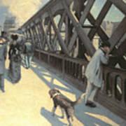 Le Pont De L'europe Poster