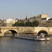Le Pont Neuf. Paris. Poster by Bernard Jaubert