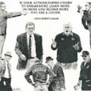 Leaders Of Men Poster