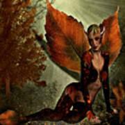 Leaf Elf Poster