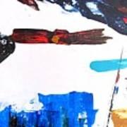 Leaping Lizzard Poster by Steve Kleier