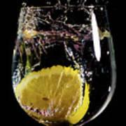 L'eau De Lemon Poster