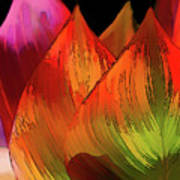 Leaves Aflame Poster