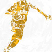 Lebron James Cleveland Cavaliers Pixel Art 14 Poster