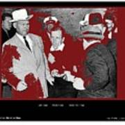Lee Harvey Oswald Shot By Jack Ruby Photo Taken By  Dallas Times Herald Photographer Bob Jackson  Poster