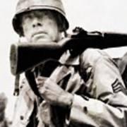 Lee Marvin, Vintage Actor Poster