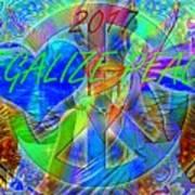 Legalize Peace Poster