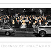 Legends Of Hollywood Poster Poster