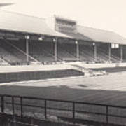Leicester City - Filbert Street - Main Stand 1 - Bw - 1960s Poster