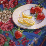 Lemons N Berries Poster