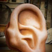 Lend Me An Ear Poster