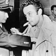 Lenny Bruce 1925-1966, Being Searched Poster by Everett