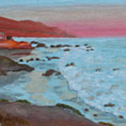 Leo Carillo Beach Afternoon II Poster