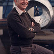 Leon Lederman, American Physicist Poster