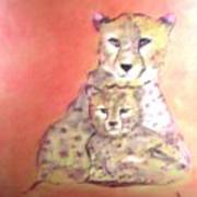 Leopard Love Poster