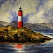 Les Eclaireurs Lighthouse Poster