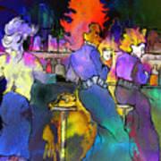 Les Filles Du Cafe De La Nuit Poster