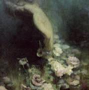 Les Fleurs Du Sommeil Poster by Achille Theodore Cesbron
