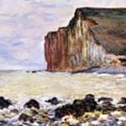 Les Petites Dalles Poster by Claude Monet