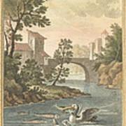 Les Poissons Et Le Cormoran (the Fish And Thecormorant) Poster