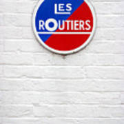 Les Routiers Poster