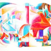 Les Temps Modernes Poster